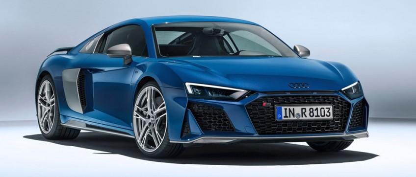 Audi выполнила небольшой рестайлинг R8