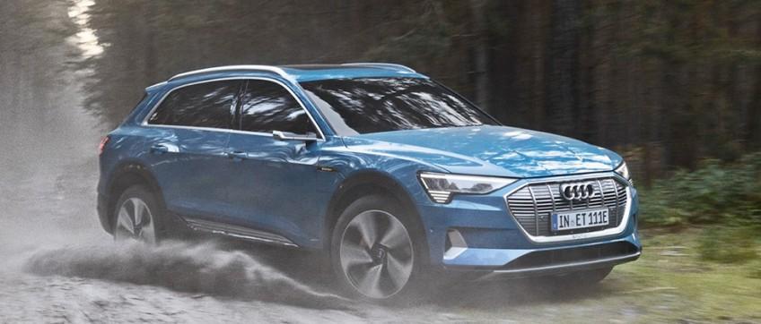 Серийная Audi e-tron получит 408 лошадиных сил