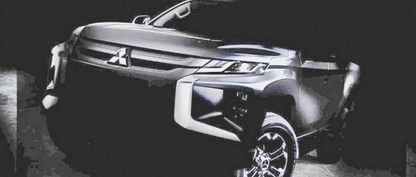 Mitsubishi представила фотографии нового L200