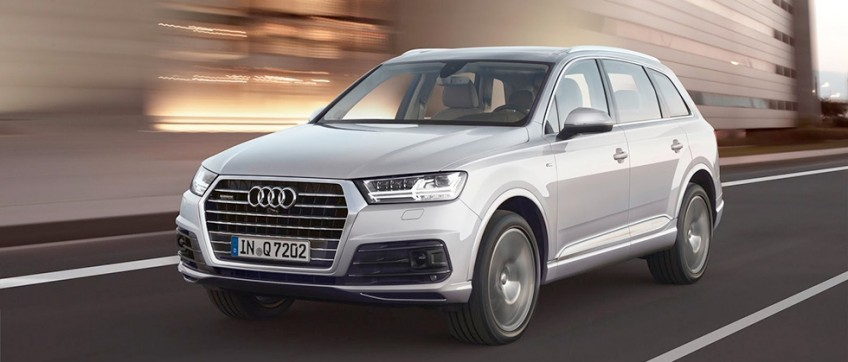 В сети появились первые изображения нового Audi Q7