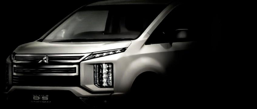 Mitsubishi проведёт рестайлинг Delica