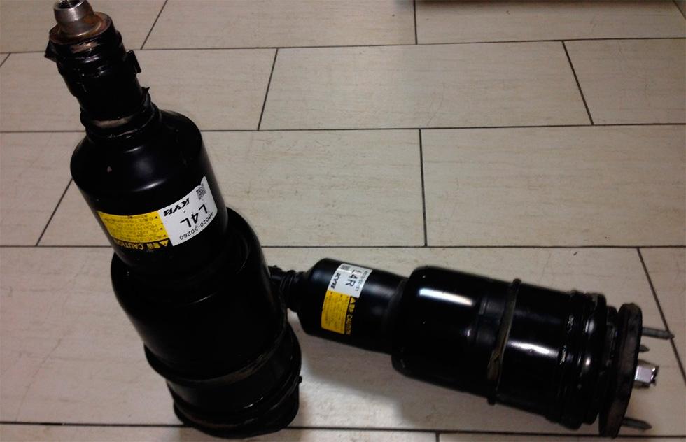 ремонт пневмоподвески lexus ls600