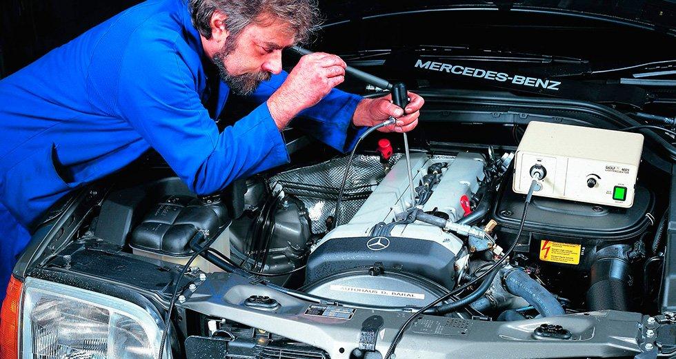 полная диагностика двигателя авто