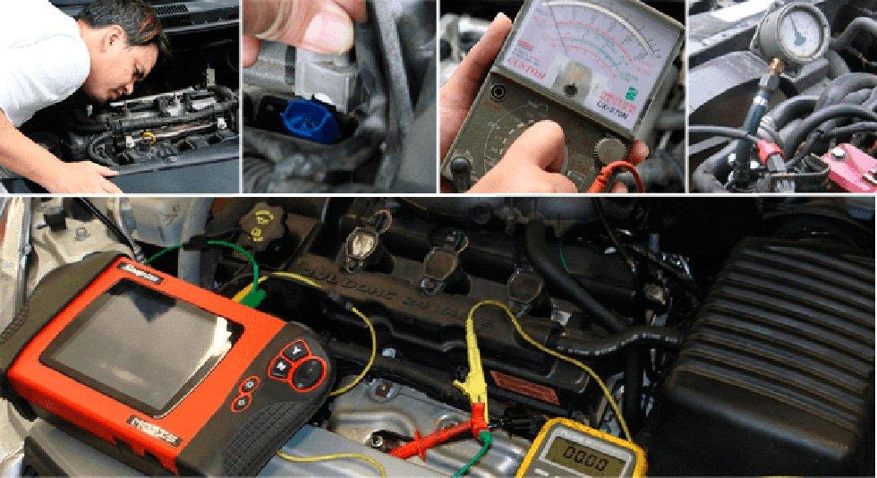 диагностика двигателя авто эндоскопом