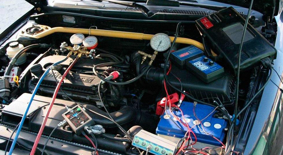 диагностика двигателя авто в Москве