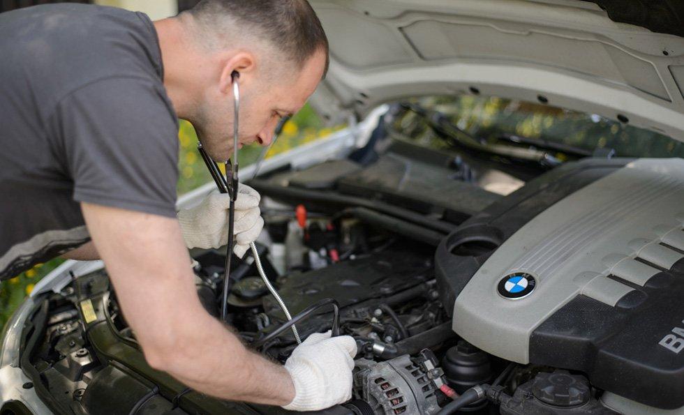 ремонт и диагностика двигателя автомобиля