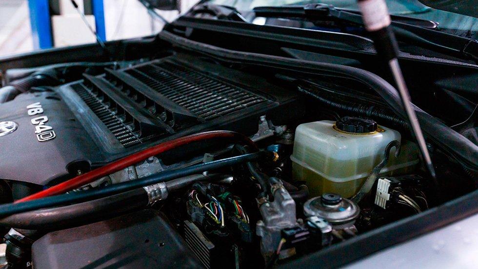 промывка отопителя в автосервисе