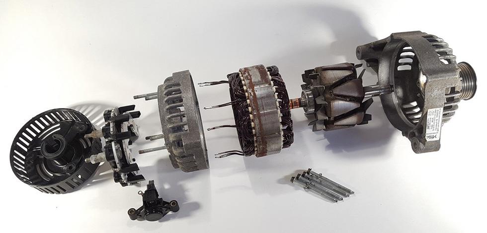 ремонт автомобильных генераторов в техцентре