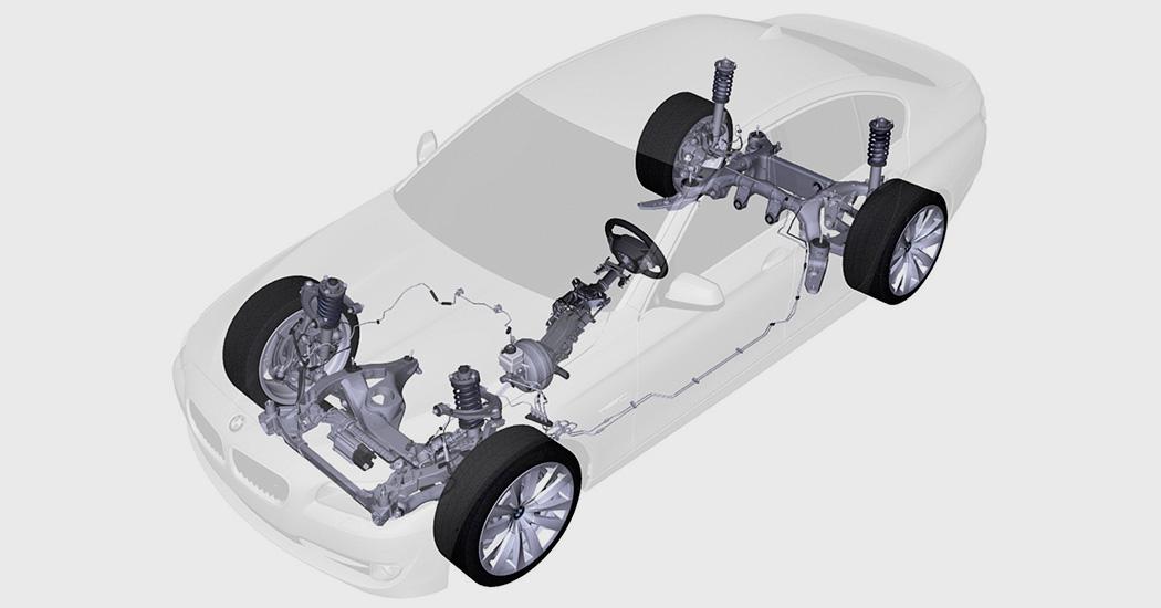 устройство рулевого управления в легковом