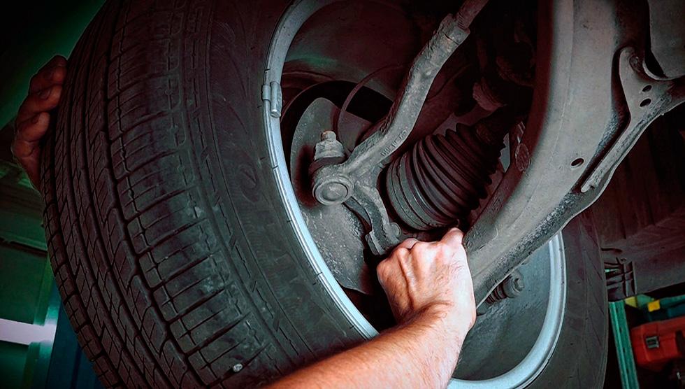 починить рулевые тяги