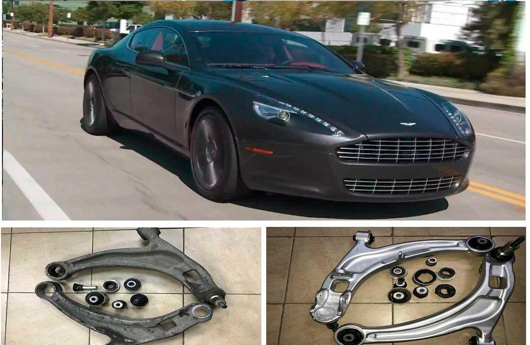 ремонт Aston Martin Rapide