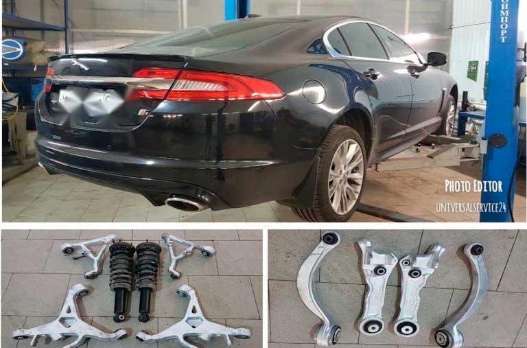 восстановление шарнирных сайлентблоков Jaguar XF