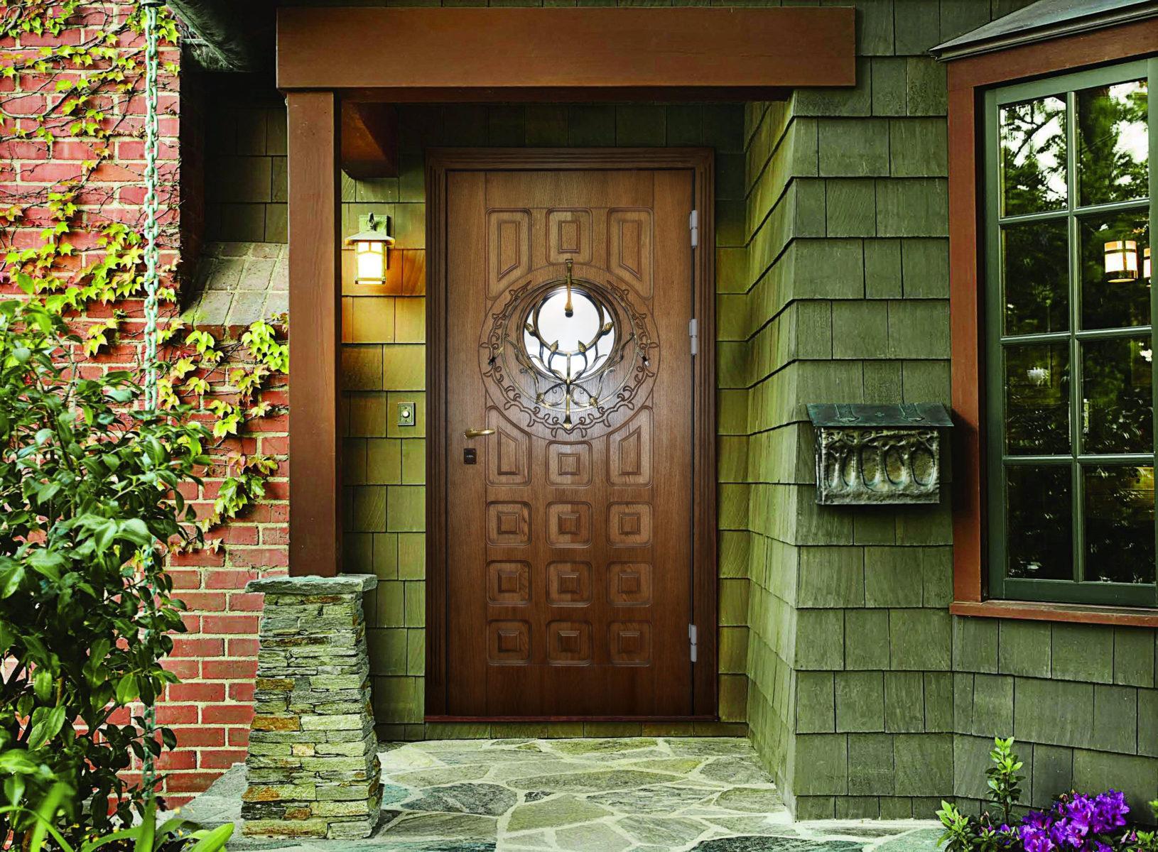 Двери дома